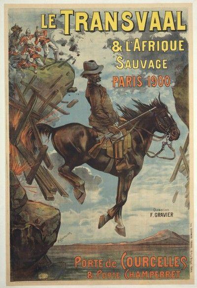 Voorblad van 'n Franse tydskrif wat handel oor die AB oorlog.  Histories is Brittanje en Frankryk vyandig teenoor mekaar en het die Boere baie simpatie vanaf die mense in Frankryk ontvang.