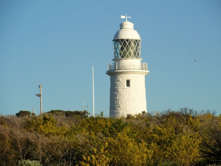 """Cape Naturaliste Lighthouse, Western Australia. The name is due to french discoverers who were the first meassured up the south western Australian coasts. """"The Naturaliste"""" was one of the ships of this first french fleet."""