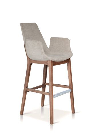 Eiffel Wood Arm Stool by sohoConcept at 212Concept - Modern Living