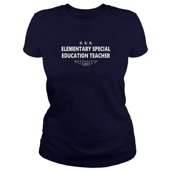 Cool ELEMENTARY SPECIAL EDUCATION TEACHER JOBS TSHIRT GUYS LADIES YOUTH TEE HOODIES SWEAT SHIRT Shirts & Tees