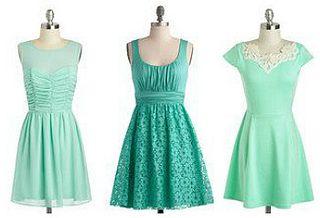 Aqua Bridesmaid Dresses modcloth