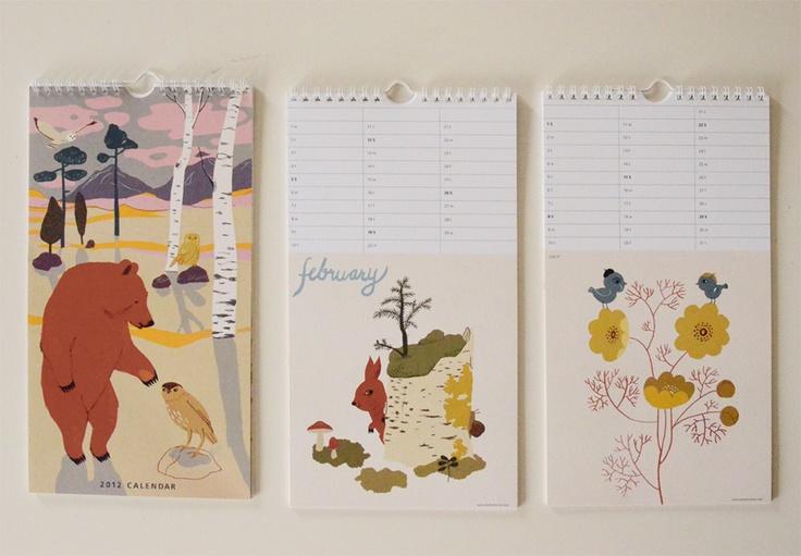 lovely 2012 calendar