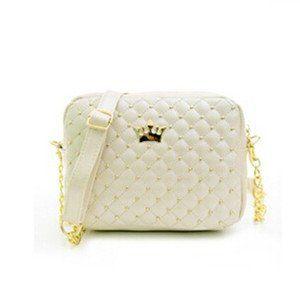 Women Bag Fashion Handbag With Crown Mini Rivet Shoulder Bag Women Messenger Bag