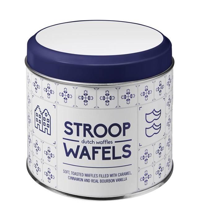 Stroop Wafels, deliziose cialde di wafer olandesi in scatola personalizzabile