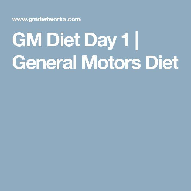 Best 25 gm diet ideas on pinterest gm diet plans 3 for General motors detox diet