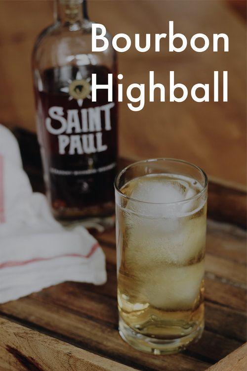 Bourbon Highball Minnesota Saint Paul Panther Distillery