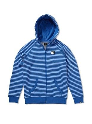 66% OFF DC Boy's Cage Stripe-BY Hoodie (skydiver)