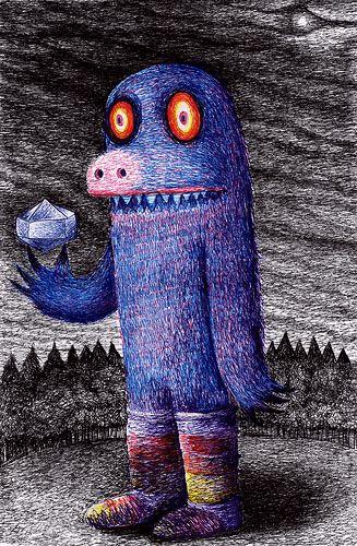 Gifs «stéréographiques» de Dain Fagerholm, Impression de profondeur folle @O@. Et au crayon à papier en plus....
