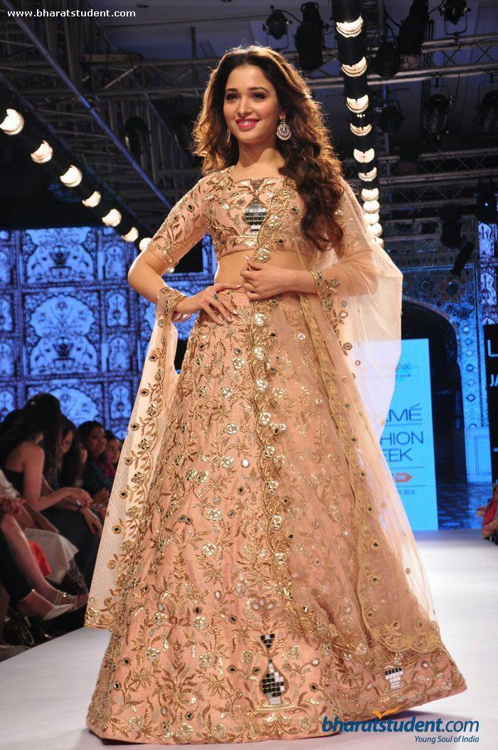 Tamannaah Bhatia walks the ramp for Payal Singhal Show at LFW Summer/Resort 2015