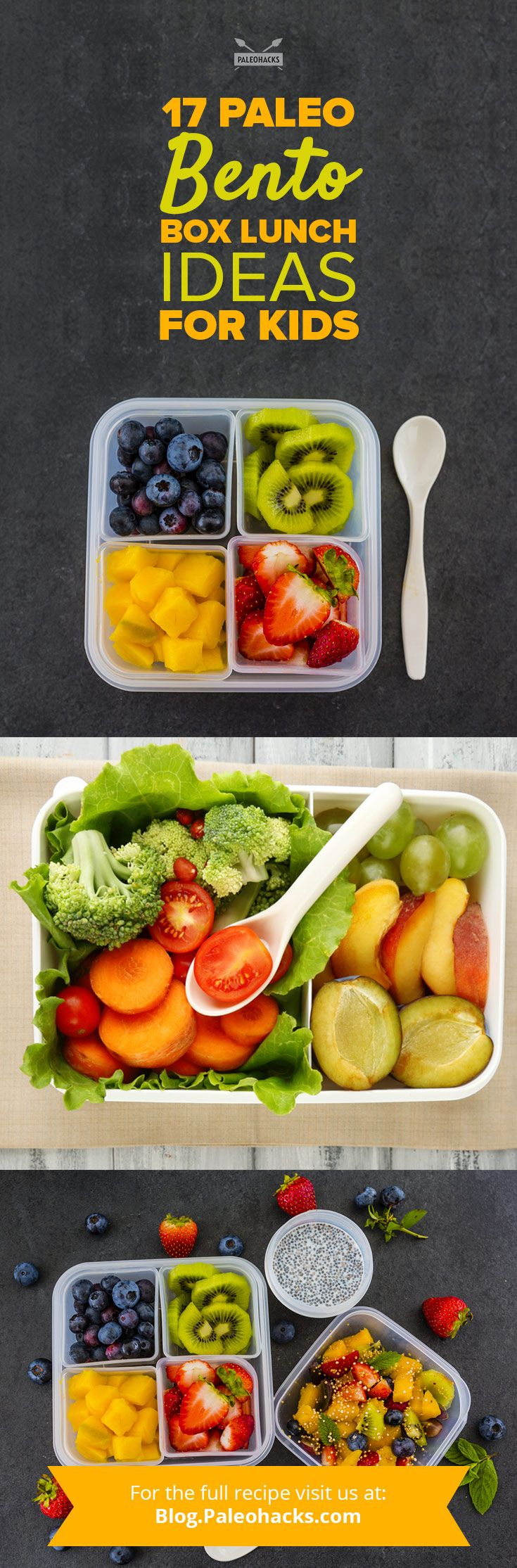 Unless your child happens to attend a pioneering school making the shift toward healthy lunches, you know how difficult it is to come across a nutritious school meal. For Paleo families, this means you dutifully pack your kids' meals every day—and if you do, you deserve major kudos, because we know how much effort that takes. Get all the recipe ideas here: http://paleo.co/bentoboxlunchrcps