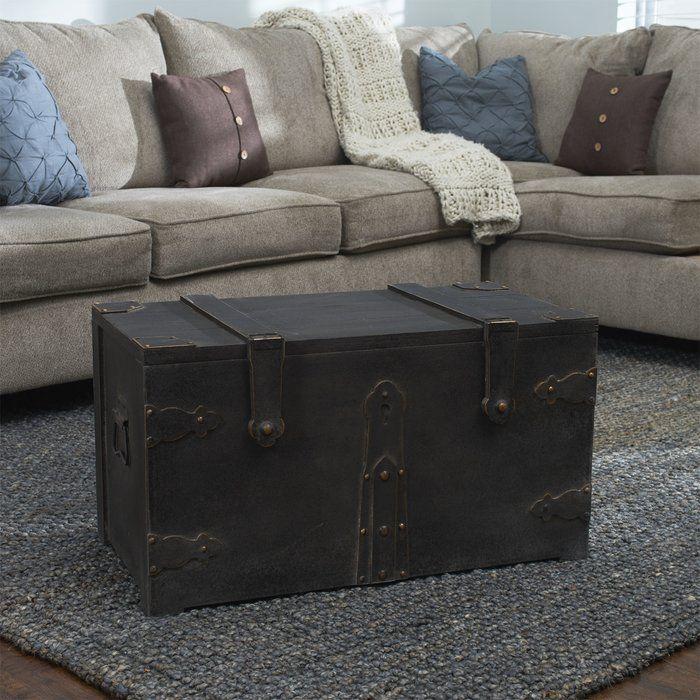 Baron Wooden Trunk Wooden Trunks Household Essentials Modern Bedroom Storage #storage #trunk #for #living #room