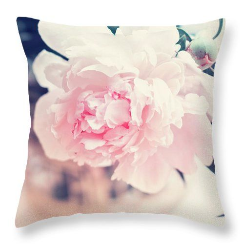 Pink Throw Pillow featuring the photograph Beautiful Peony by Oksana Ariskina  #fineartamerica #HomeDecor #FineArtPhotography #photography #FineArtPrint #FineArtArtist #PrintsForSale #art #artforsale #inspiration #ArtForHome #creative #OksanaAriskina #Poppy #Flower #Tender #Pastel #wallart #buyart #buyartonline #home #decor #nature www.oksana-ariskina.pixels.com @pixels @fineartamerica