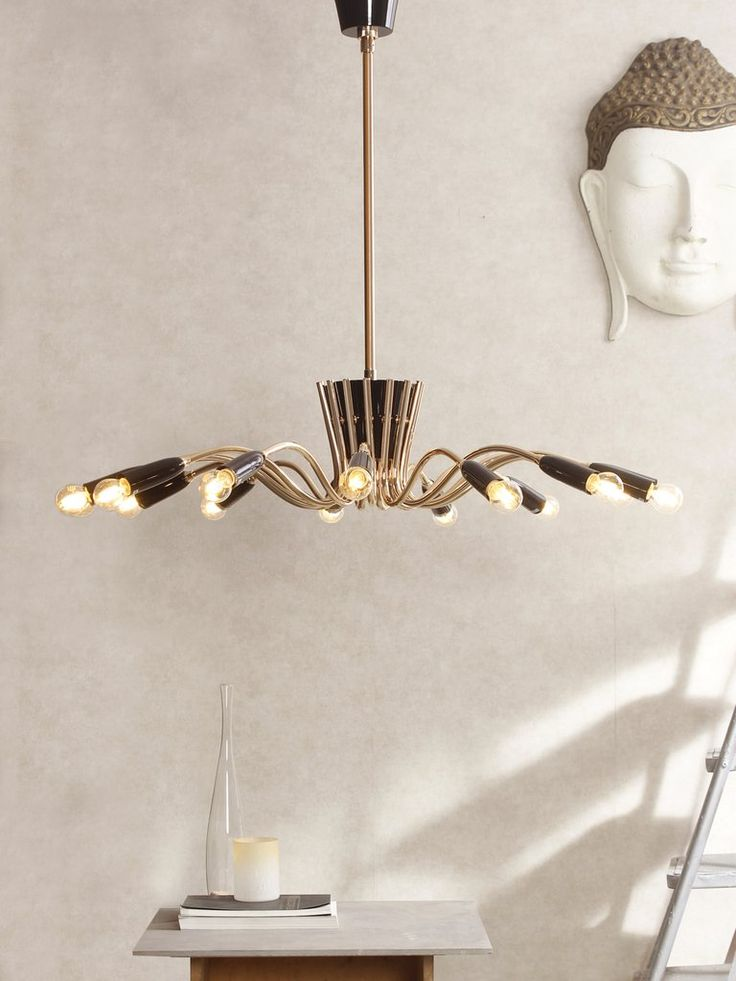 Quora contemporary style chandelier which offers beautiful ambient lighting and will brighten up your home