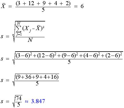 10 best standard deviation example calculations images on standard deviation calculate formula sample ccuart Image collections