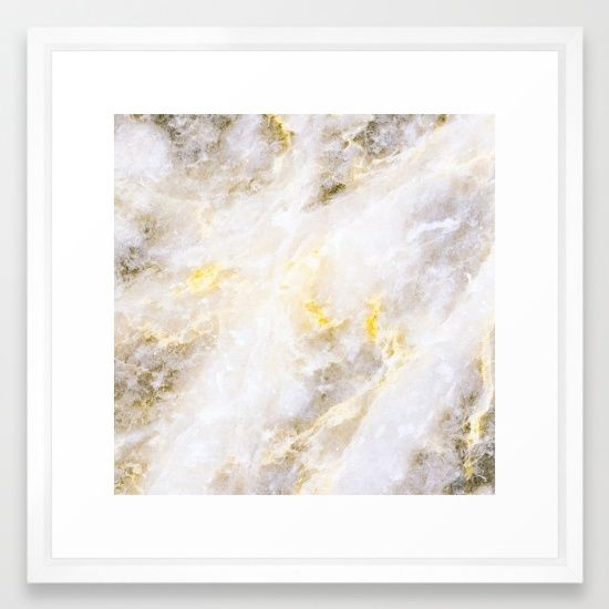 bright marble painting Framed Art Print