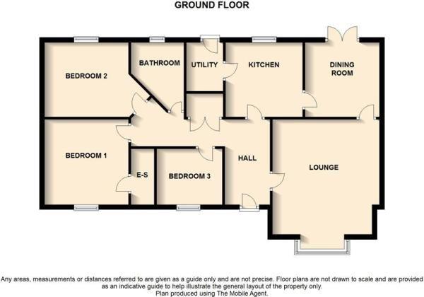 2 bedroom bungalow floor plans uk - Google Search PROPERTY - bungalow floor plans