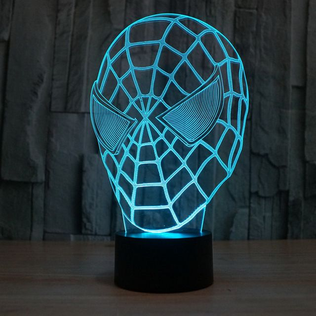 3D Illusion Spiderman Lamp //Price: $29.99 & FREE Shipping //     #hashtag4