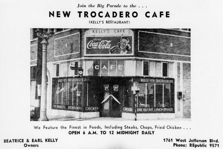 African American Cafe New Trocadero Caf 1781 W