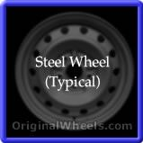 Chevrolet Truck3500 1989 Wheels & Rims Hollander #8009  #Chevrolet #Truck3500 #ChevyTruck3500 #1989 #Wheels #Rims #Stock #Factory #Original #OEM #OE #Steel #Alloy #Used