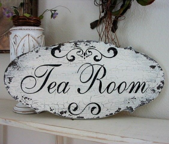 LAUNDRY / TEA Room / BEAUTY Salon Shabby by thebackporchshoppe