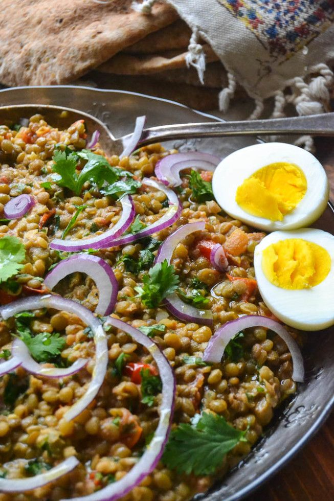 Crushed Lentils with Tahini and Cumin | The View from Great Island