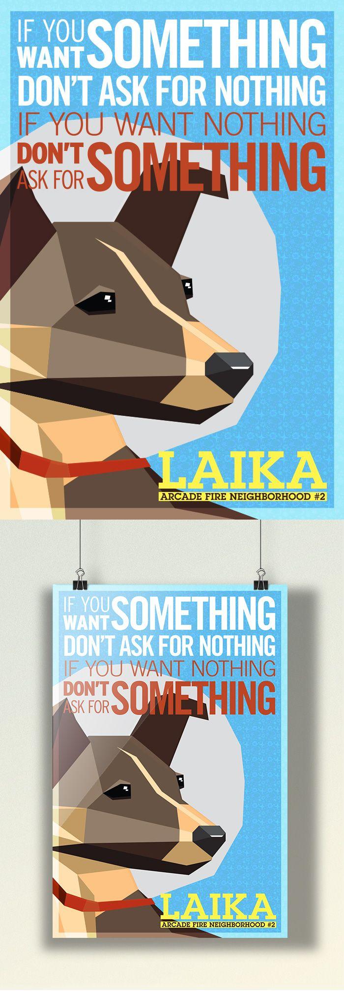 Um do Caio Oricchio! #poster #arcadefire www.s6isdesign.com.br