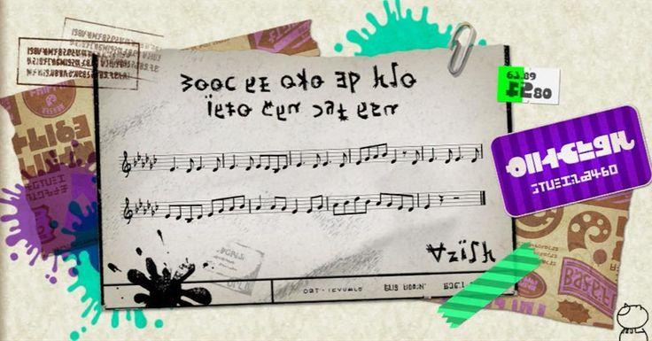 #22 #sunkenscrolls  #History #Splatoon #Nintendo #song #music #theme #themesong #sheetmusic #Calamari #county #DNA #woomy #salty #stayfresh #ink #inkling #inkopolis #squid #game by splatoonology