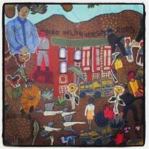 Nomfusi 2014 - Steve Biko Tapestry II