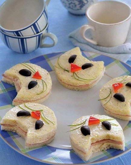 broodje voor de poes