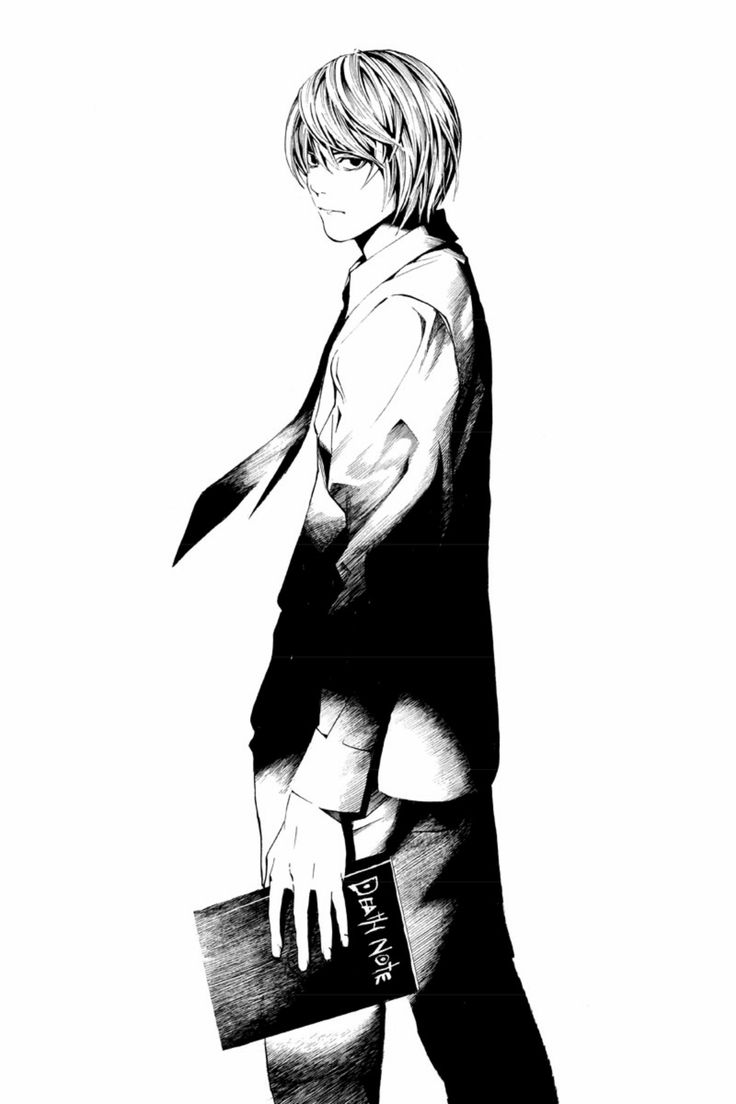 Death Note - Light Yagami | Death Note | Pinterest | Note ...
