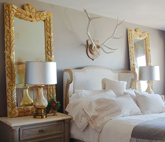 I Have 2 Ornate Gold Mirrors That Belonged To My Mother. I Plan To Use ·  Neutral BedroomsWhite ...