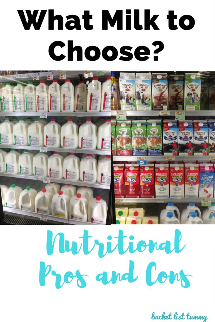 There are so many types of milks out there, whole milk, skim, coconut, almond, soy...what's the difference? Is one healthier than another? Click through to find out which is best for you!