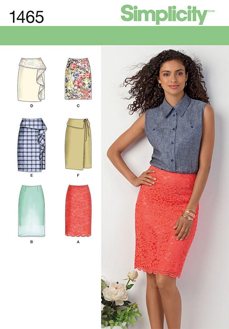 Pattern Reviews> Simplicity> 1465 (Misses' Slim Skirt in Two Lengths)