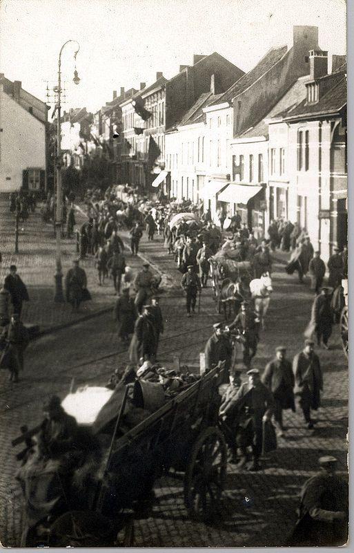 Aftocht van de Duitse troepen door Borgloon | Flickr - Photo Sharing!