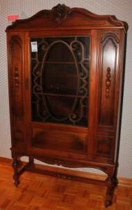 Gibbard Walnut China Cabinet Found On MaxSold Kingston Downsizing Sale