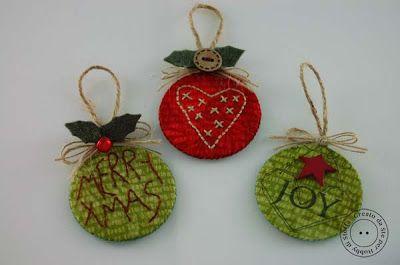 Hobby di stoffa by Hdc: Pronte per le decorazioni per lalbero di Natale?