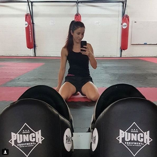 #repost @shewolf_muay_thai_fighter Not a hobby but a lifestyle 😘👊 #boxing #fitness #training #gym #workout #motivation #fight #fit #crossfit #fighter #mma #cardio #sports #health #exercise #boxer #punch #punchequipment #testedonhumans #punchuk...