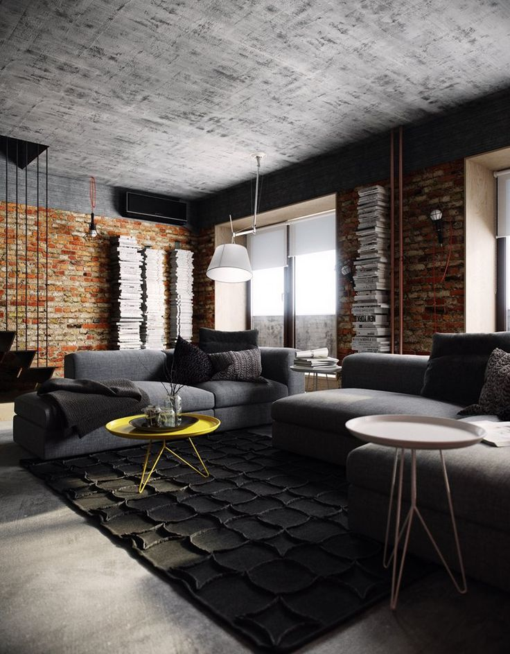 BUNKER :: first level by PROforma - project group (Tatyana Bobyleva - Interior designer) / Moscow, 2014 | Architecture & Interior Design | Pinterest | Moscow, …