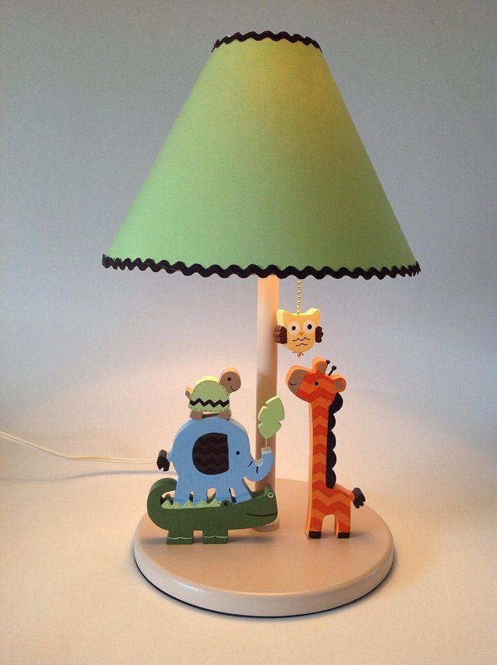 jungle nursery lamp for baby room decor by undertencr.net