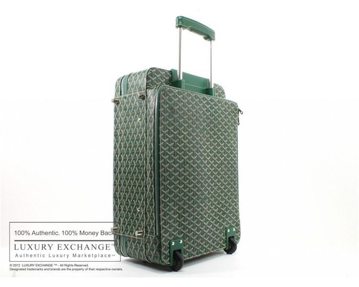 goyard luggage | Authentic Goyard Trolley PM Luggage Suitcase