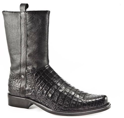 Genuine Cayman Belly Leather Boots From: Cuadra Soft ...