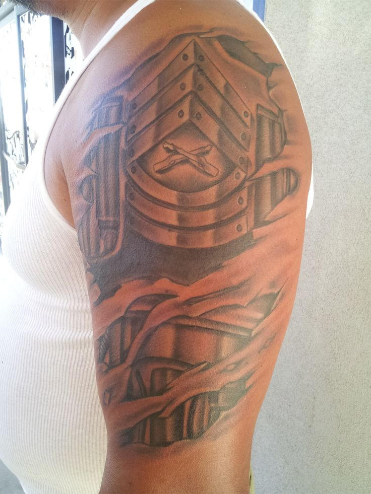 Master Sergeant Rank, would be nicer as Army | Tattoos ...