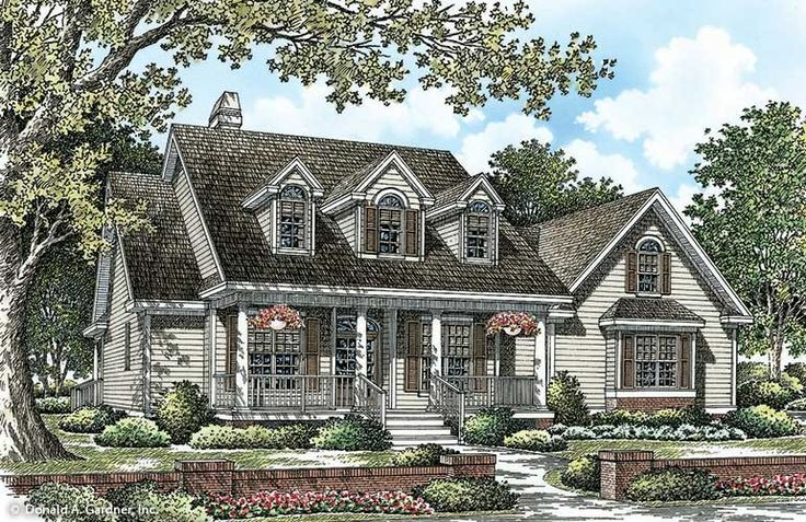 Cape cod house plans cape cod floor plans don gardner for Foremost homes floor plans