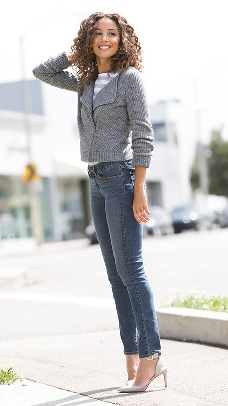 DENIZEN® Jeans Essential Stretch Modern Skinny in Grace. Great with heels or tucked into your favorite pair of boots!