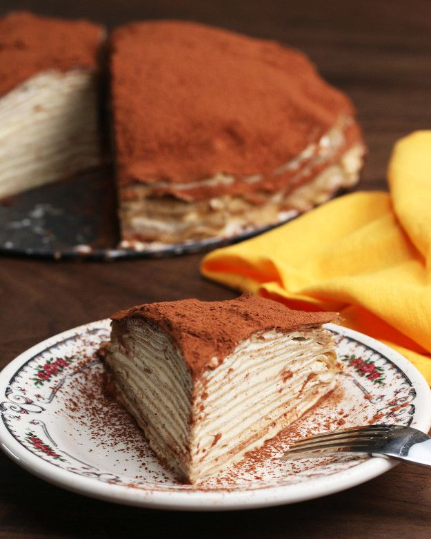 Tramisu Mille-Crepes | These Tiramisu Mille-Crepes Will Up Your Dessert Game