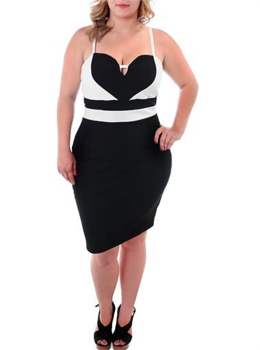 Plus Size All My Heart Black Dress, Plus Size Clothing, Club Wear, Dresses, Tops, Sexy Trendy Plus Size Women Clothes