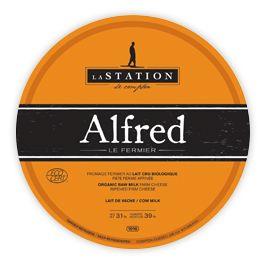 Alfred le Fermier Cheese Packaging http://www.fromagerielastation.com/