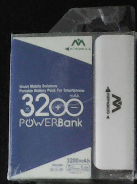 CARGADOR PORTATIL USB BATERIA POWERBANK 3200 MAH ¡Ideal para viajes!