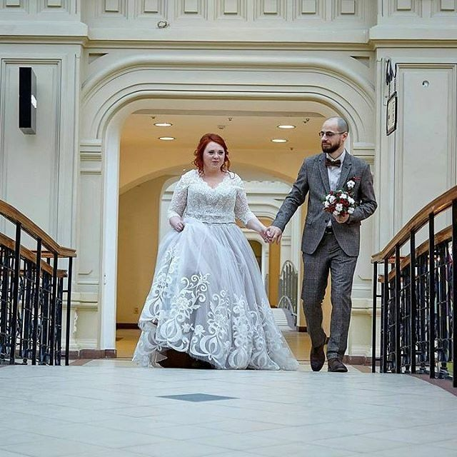 2359 best images about plus size wedding dresses from for American haute couture designers