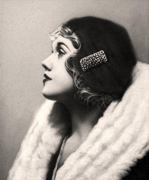 1920's Anny Ondra: Czech film actress. @Deidré Wallace